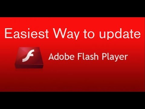 Easy update Adobe Flash Player in 2 Minutes 2020