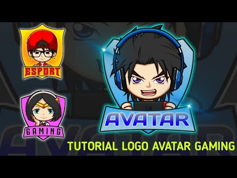 Cara Membuat Logo Avatar Gaming Di Hp Android Pixellab Tutorial