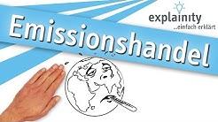 Emissionshandel einfach erklärt (explainity® Erklärvideo)