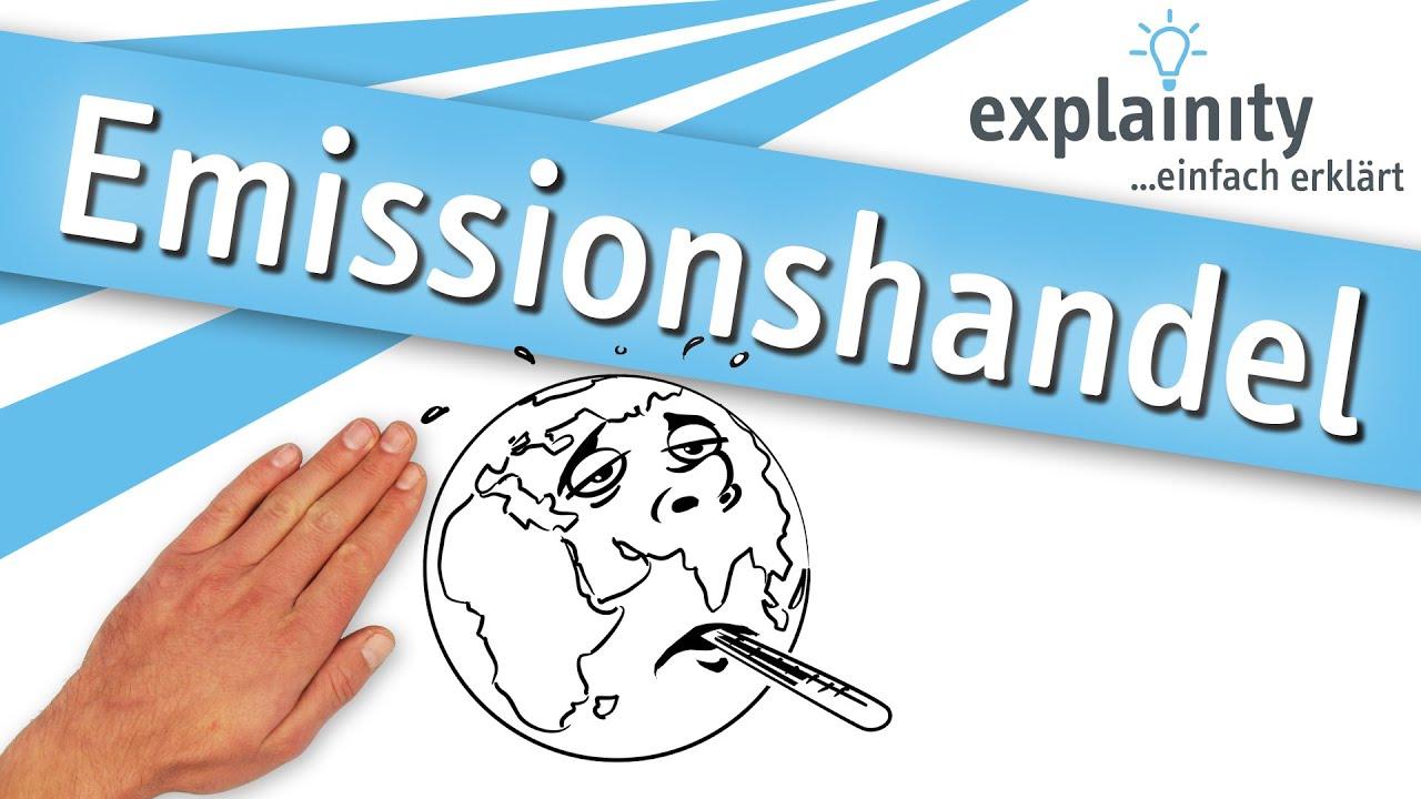 Emissionshandel Einfach Erklärt Explainity Erklärvideo Youtube