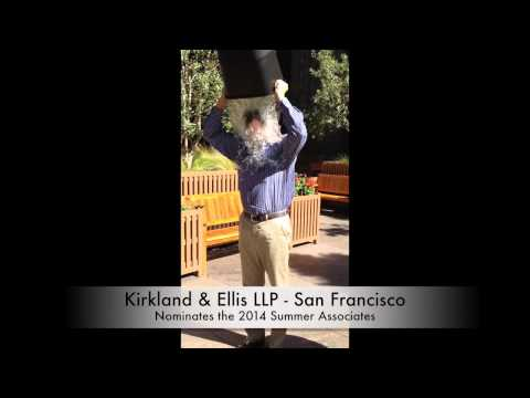 Kirkland & Ellis San Francisco Office Ice Bucket Challenge HD