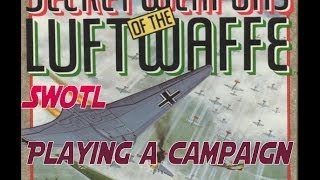 Secret Weapons of the Luftwaffe - Playing a Campaign - Mission 1- Defend Hamburg
