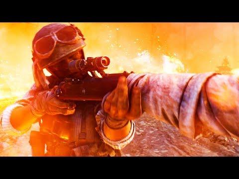 Battlefield 5 — Трейлер королевской битвы «Огненный шторм» (2019)