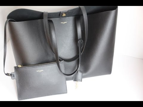 4545c3313b Saint Laurent Large Shopping Tote - Review - YouTube