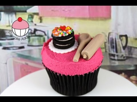Make Baking Accessory Bake Set Cupcakes - A Cupcake Addiction How To Tutorial