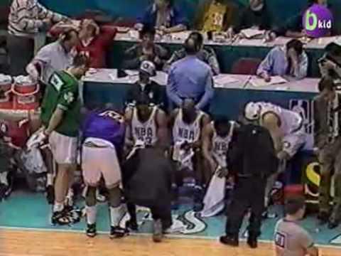 1994 NBA Rookie Game: Penny Hardaway, Chris Webber, Isaiah Rider, Shawn Bradley, Toni Kukoc