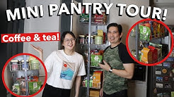WHAT'S IN OUR MINI PANTRY: COFFEE & TEA! | ASHLEY SANDRINE