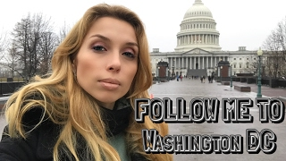 Washington DC | День в Вашингтоне | Экскурсия по Капитолия, Белому дому и Вашингтон Пост
