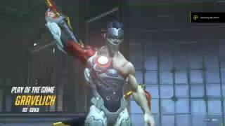 Overwatch Genji Deflecting Graviton Surge