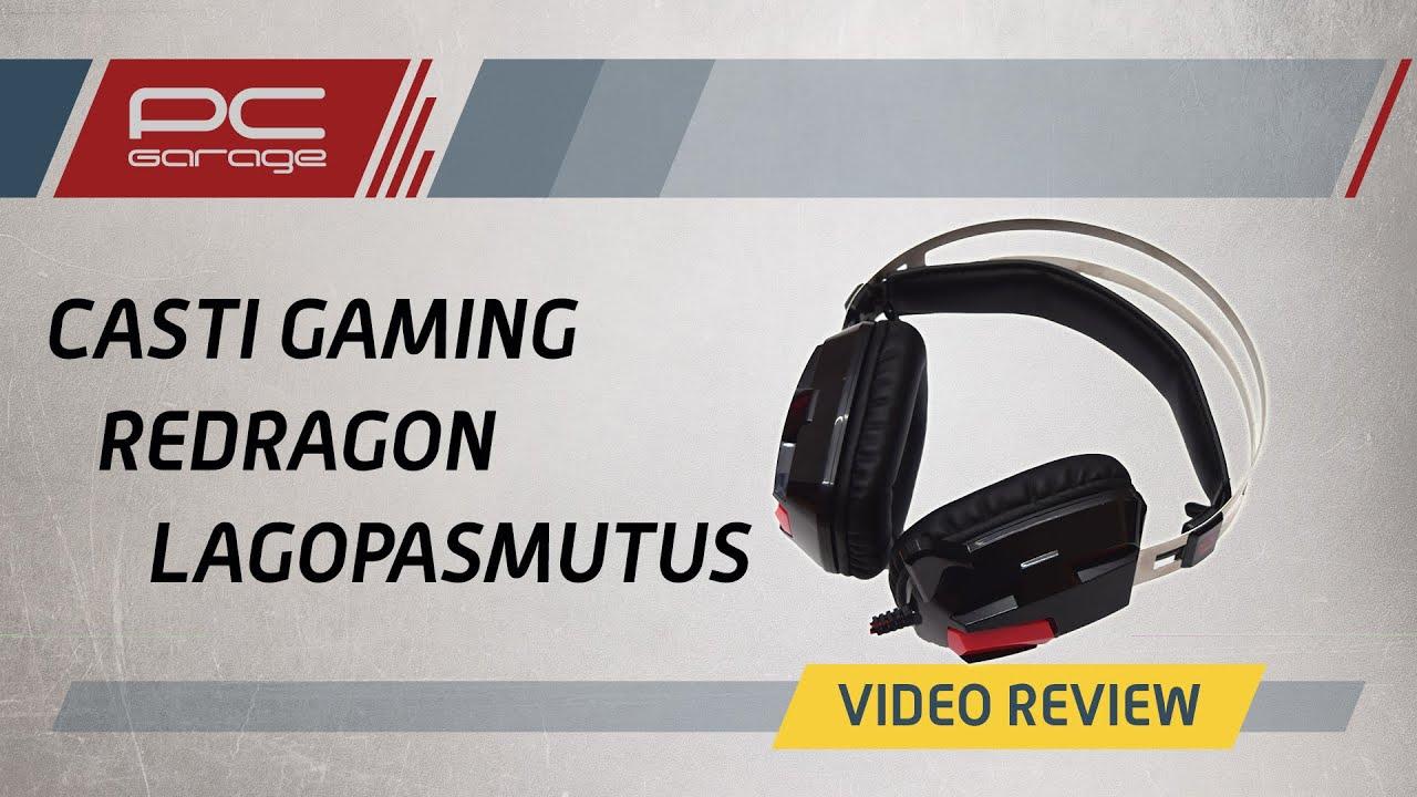 Video Review Casti Gaming Redragon