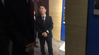 The General Manager of Machinery & Electric of Dongfang Electric about Cyprus
