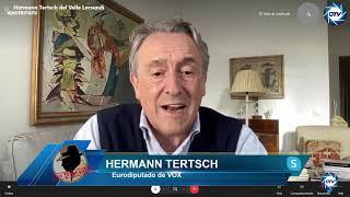 Hermann Tertsch machaca al peronista Alberto Fernández: la ideología de género es un cancer