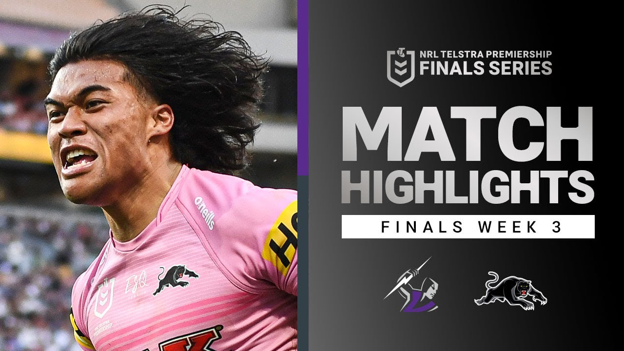 Download Storm v Panthers Match Highlights | Finals Week 3, 2021 | Telstra Premiership | NRL