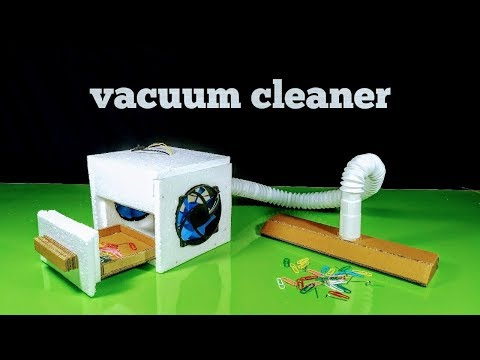 Thumbnail: How to make a Powerful 12 Volt Vacuum Cleaner at Home || DIY Tutorial