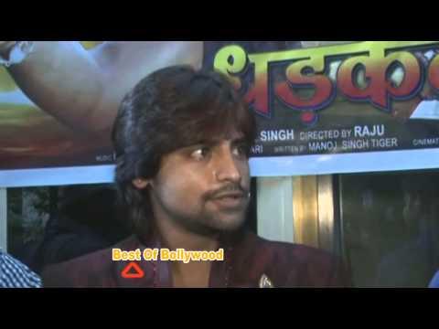 Pawan Singh At Bhojpuri Film Dhadkan Mohrat