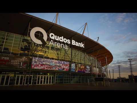 Qudos Bank Arena Signage