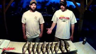 Spring fishing on Lake Oahe in South Dakota