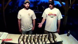 Spring fishing on Lake Oahe in South Dakota