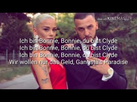 Loredana ft MozzikBONNIE & CLYDE Lyrics Video