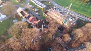 Nawojowa widok z drona walkera vitus 2017 grudzień