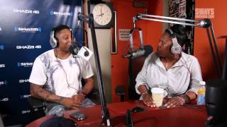Maino Hosts Sway in the Morning and Interviews Heather B