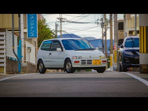 1988 Honda Today Ri-Z - The Little Car That Wants! - Walk-around And Test Drive