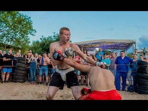 Борец против Рыжего Уличного Бойца