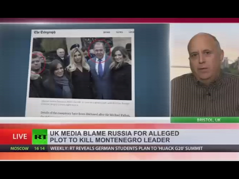 'Montenegro assassination claim part of psychological warfare op against Russia'