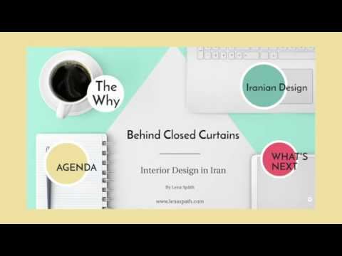Lena Späth: 'Behind Closed Curtains: Interior Design in Iran'
