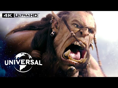 Warcraft | Durotan vs. Gul'dan Fight in 4K HDR