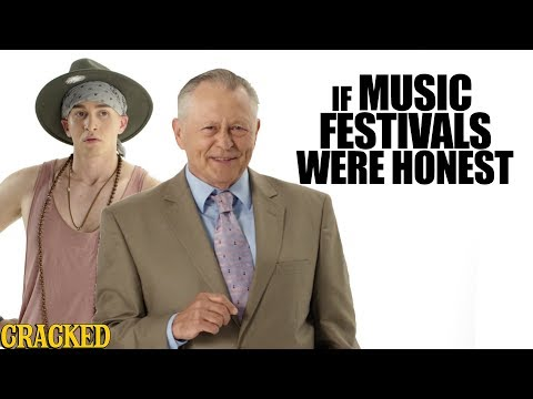 If Music Festivals Were Honest  Honest Ads Bonnaroo, Coachella, Lollapalooza Parody