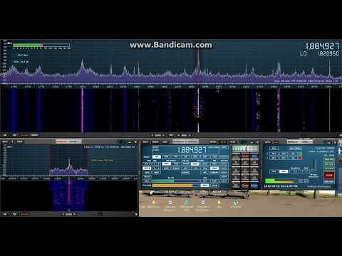 Ham radio ops using AM mode on 160m 17/04/2018 01:20 UTC