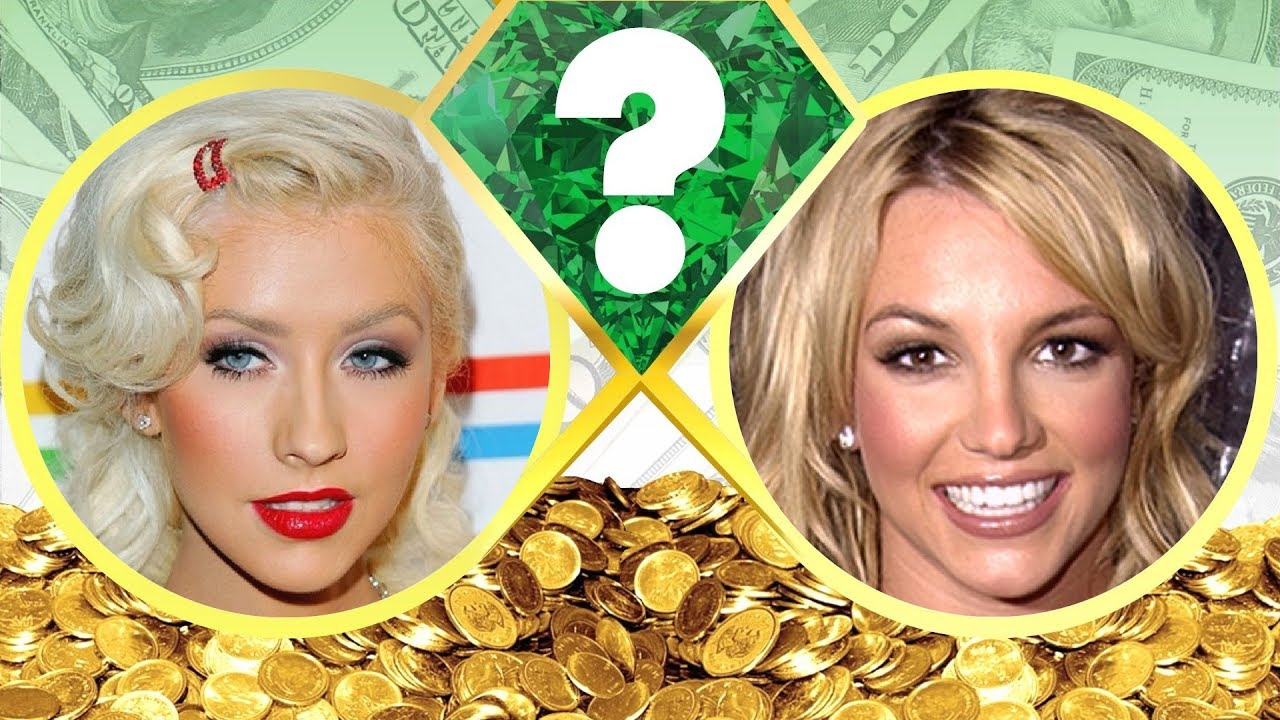 WHO'S RICHER? - Christina Aguilera or Britney Spears ... Britney Spears Net Worth 2017