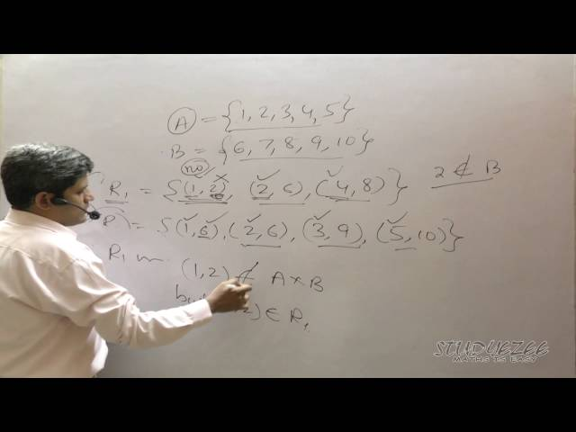 Class 11 Maths CBSE Relations 05