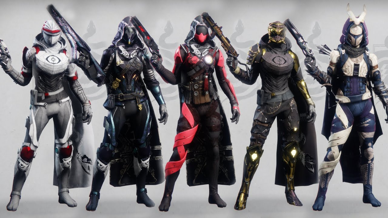 Destiny 2 Hunter Fashion Sets 3 400 Subscriber Special Youtube Took a bit, but raiju's harness is back. destiny 2 hunter fashion sets 3 400