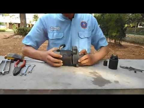 memasang motor starter
