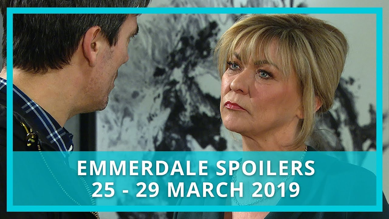 Emmerdale spoilers: 25 - 29 March 2019