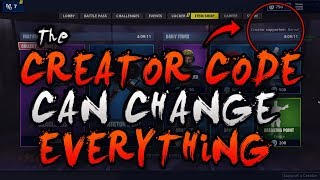 Fortnite'S Creator Code Can Change A Content Creator'S Life!
