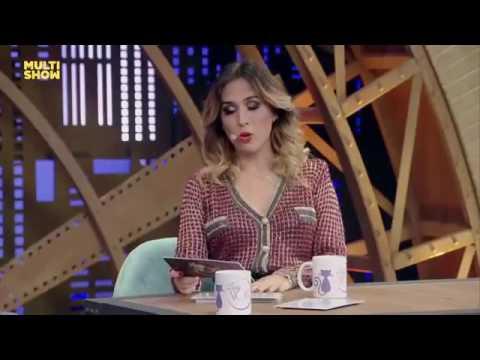 Tatá werneck e Mariana Ximenes fazem cena de novela (Lady night )
