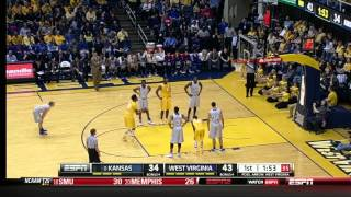 #8 Kansas @ West Virginia (3/8/2014)