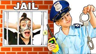 Руслан и его забавная История с Мамой про Полицейского | Правила поведения для детей | РОМАРИКИ