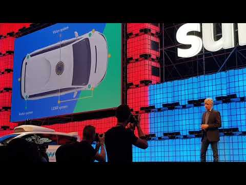 Google driverless selfdriving cars are here now! | Announcement Presentation #Websummit