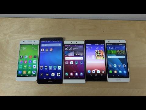 My Huawei Phones! (4K)