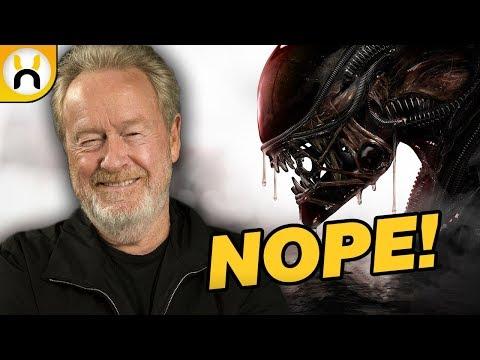 Ridley Scott Says Alien Awakening Will Drift Away From Alien Stuff