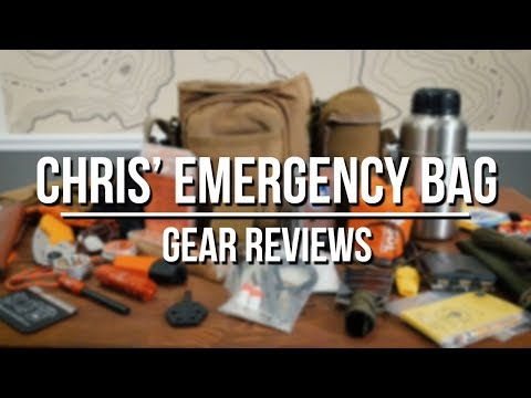 Chris Emergency Bug Out Bag Contents 2019