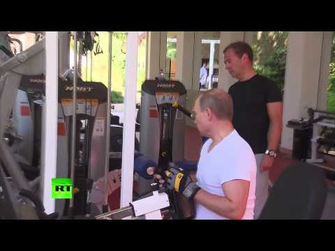 Putin's vs. Obama's Workout