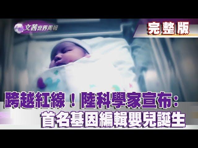 【完整版】2018.12.01《文茜世界周報-亞洲版》跨越紅線!陸科學家宣布首名基因編輯嬰兒誕生|Sisy's World News