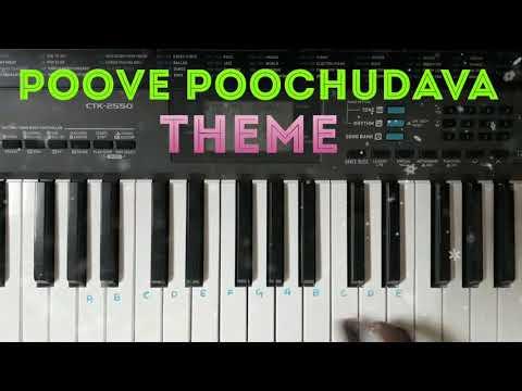 Poove Poochudava Theme Piano Tutorial | Mad's Key