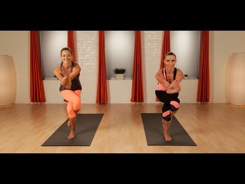 Power Yoga Workout to Stretch and Strengthen | Full Body Workout | Class FitSugar