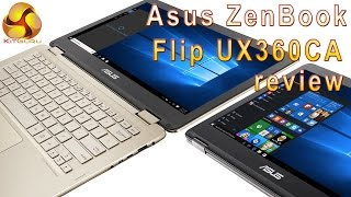 Asus ZenBook Flip UX360CA Review